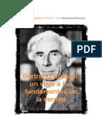 Bertrand Russell - Un Viaje a Los Fundamentos de La Verdad