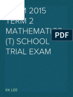 STPM 2015 MT Term 2 Trial Exam