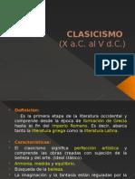 Clasicismo (x A