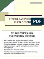 Materi 6 Pengkajian Psikososial Gerontik
