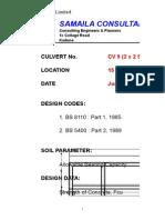 Culvert Design 1