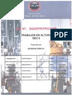 SGI-DPR-PROC008 Trabajos en Altura