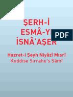 Serh-i Esma-yi Isna Aser - Hazreti Seyh Niyazi Misri