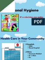 ch  4 personal hygiene