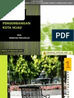 Lokakarya Kampung Hijau PU