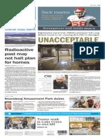 Asbury Park Press front page Monday, April 20 2015