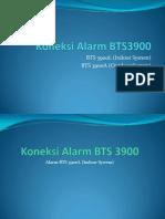 Koneksi Alarm BTS3900 XL Huawei