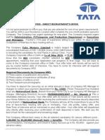 Direct Recruitment s Offer Letter.