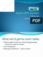 Agile (XP) Games