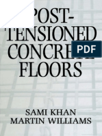 Post-tensioned Concrete Floor -S.khan