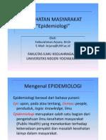 (6) Epidemiologi