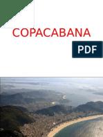 Copacabana beach Brasil