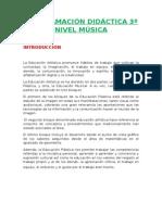 Programación Lomce 3º Música