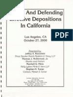 Effective Depositions in California 0001