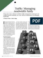 Managing Internet Bandwidth Fairly