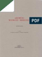 Dispacci di Carlo Aurelio Widmann