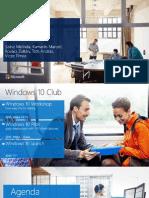 Windows 10 Club 0319 Presentation Final