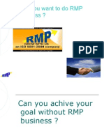 Why You Want to Do RMP Business