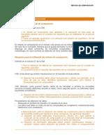 Metodo de Comparación Revisión Mayo 2014