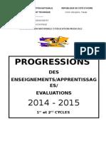 PREGRESSIONS 14-15