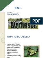 Bio-diesel Paper Presentation