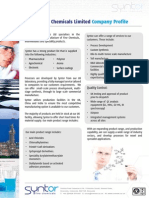 Syntor Brochure 2014