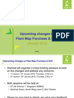 Plant Map NCE Changes