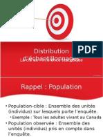 Distribution d'échantillonage