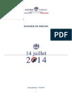 Dossier de Presse 14juillet