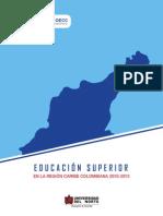 La Educación Superior en el Caribe colombiano 2010-2013