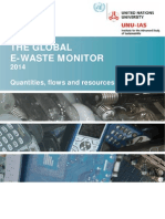 UNU 1stGlobal E Waste Monitor 2014 Small