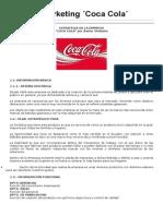 Plan de Marketing Coca Cola