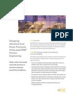 Designing Coal Processes Brochure