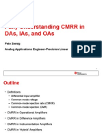 Fully Understanding CMRR Taiwan 2012