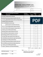 INV8 (Professional Dev Log Page 1