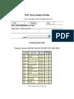 wsu stars student profile