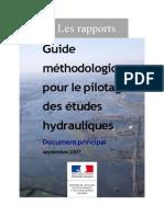 Guide Methodologique Pour Le Pilotage Des Etudes Hydroliques_2007