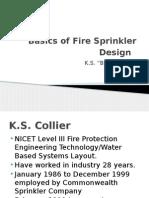 Basics of Fire Sprinkler Design Ascet Meeting 2-5