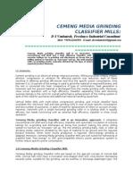 Cemeng Mediagrinding Classifier Mills