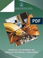 TJTO CGJ - Manual de Normas de Serviço Notarial e Registral