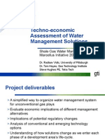 08122 05 PR Techno Economic Assessment Water Management Solutions 04-26-11