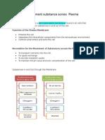 Chapter 3 Plasam Membrane