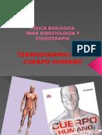 Termodinamica Del Cuerpo Humano