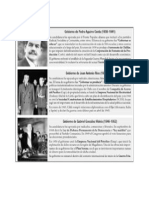3ero Medio -Información Gobiernos Radicales - Viernes