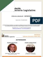 Informe Electoral - PASO- Mendoza