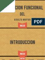 Evaluacion Funcional del Adulto Mayor