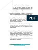 Ten Axioms of Finance