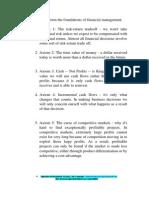 Ten Axioms of Finance