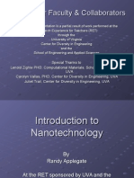Intro to Nanotechnology