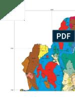 Mapa Geológico Del Departamento de Cajamarca